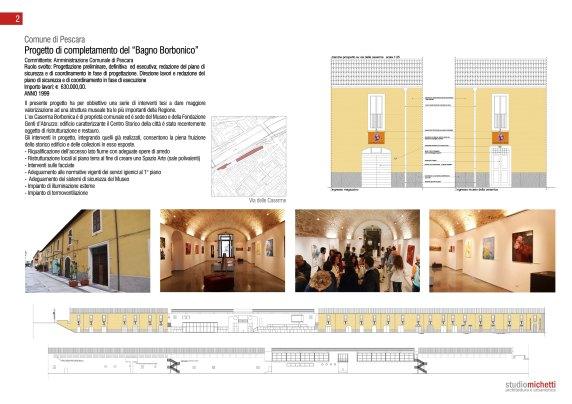 Completamento restauro Museo delle Genti d'Abruzzo, Pescara