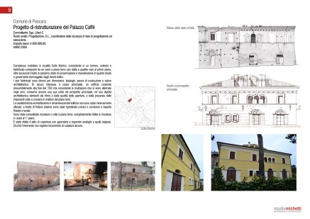 Restauro ex- palazzo Caffè, Pescara