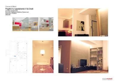 Appartamento in Via Crivelli, Milano