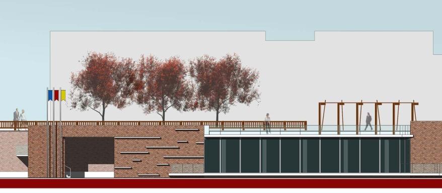 Progetto di belvedere attrezzato con sala polivalente, Montesilvano Colli (Pe)