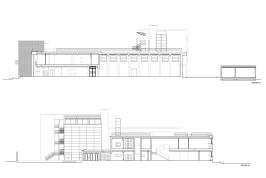 Restauro e ampliamento Liceo Scientifico G.Galilei, Pescara -sezioni