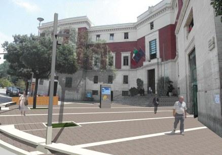 Piazza antistante Palazzo di Città, Pescara