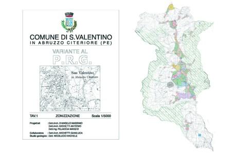 Variante al P.R.G. di S.Valentino