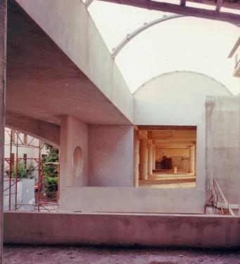 Restauro ex-bagno borbonico, Pescara - foto di cantiere