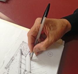 Sketchbook Antonio Michetti